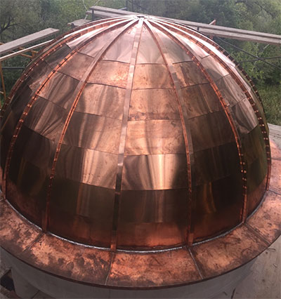 Copper Dome Roofing Oakville Toronto